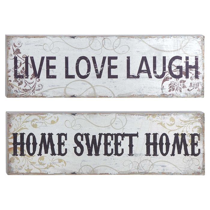 2-Piece Inspired Wall Decor Set