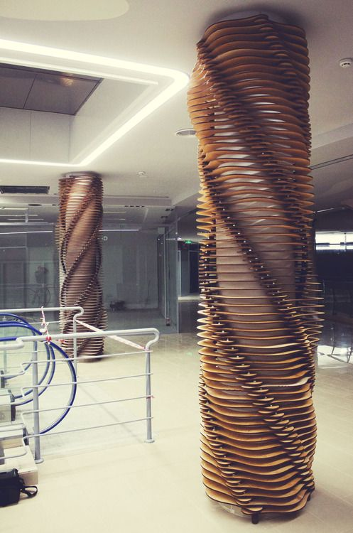 Designcompute Lasercut Decorative Columns More Cnc