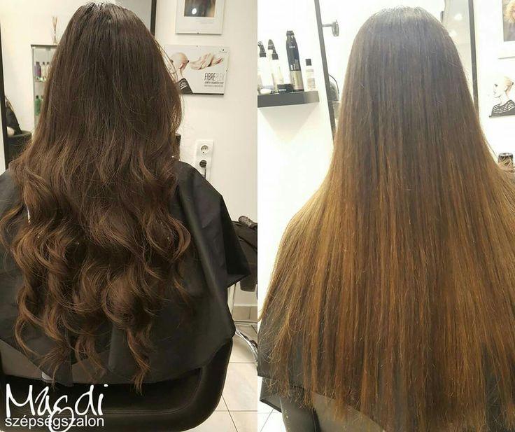 Noémi vágása, festése nyomán  gyönyörű lett 😃  www.magdiszepsegszalon.hu  #ilovemyhair #szeretemahajam #hair #longhair #hosszúhaj #hajdivat #fodrasz #hairdresser #beautysalon #szépségszalon