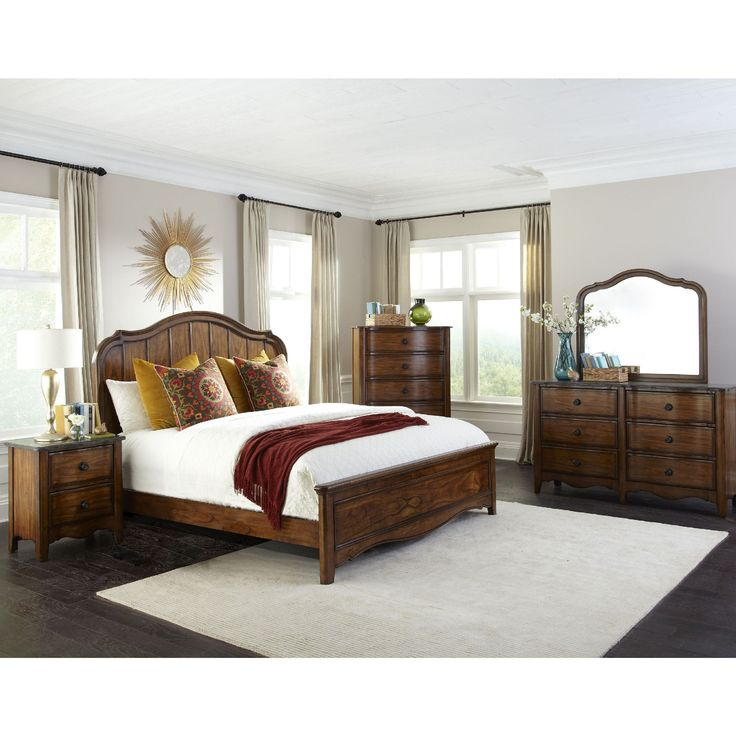 Intercon Luciano Traditional Panel Bed