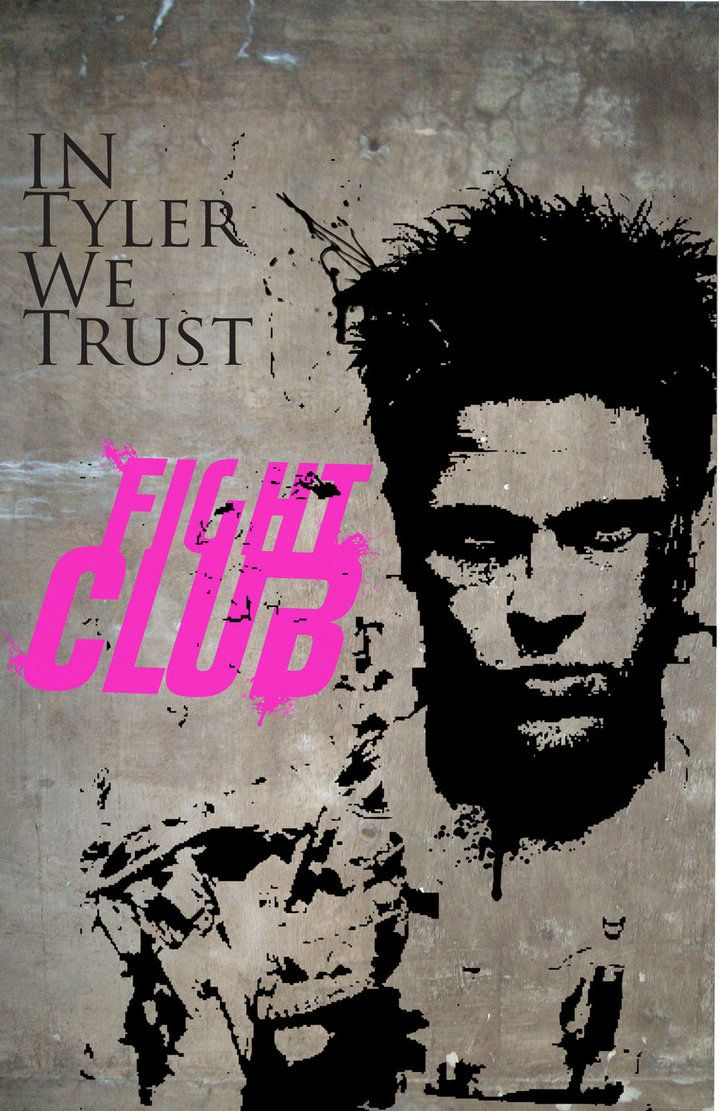 17 best images about in tyler we trust fight club do not fuck us tyler durden