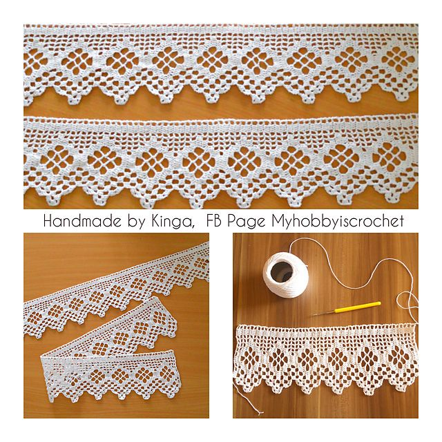 Ravelry: Myhobbyiscrochets Crochet edging
