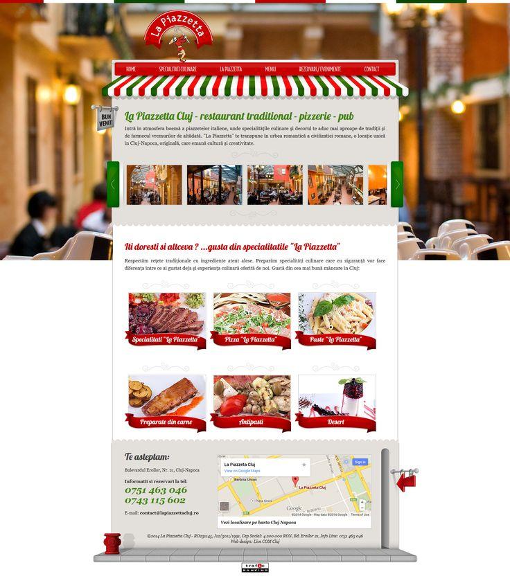 La Piazzetta Cluj - web design
