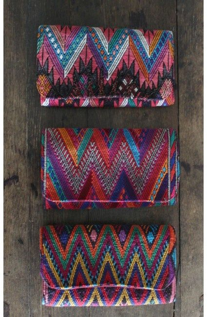 Touches of colour like Aztec prints are great to add a subtle boost to any neutral outfit.