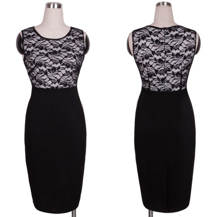 Elegant Solid Sleeveless O-Neck Shift Bodycon Dress