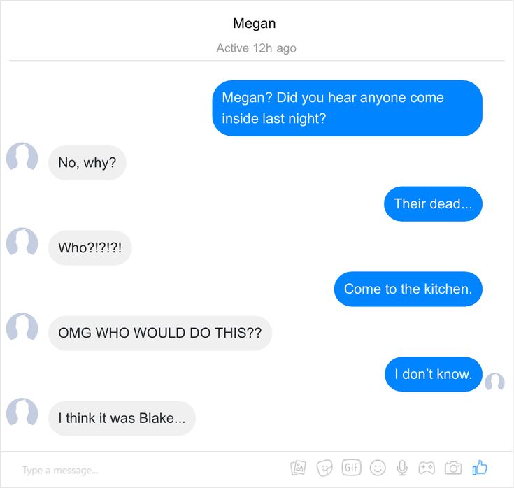 Facebook Fake Chat