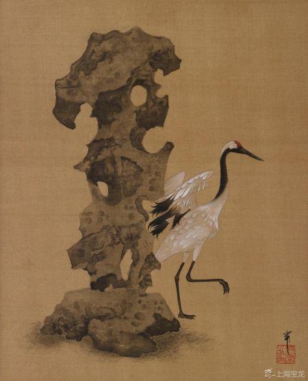 Shen Ning (b.1976) Crane Stone... Garden StonesCrane