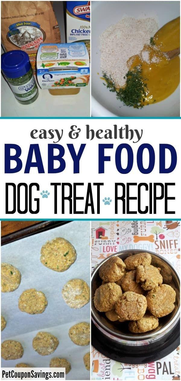 Baby Food Dog Treats Recipe In 2020 Dog Treat Recipes