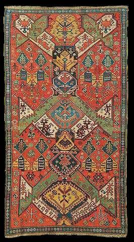 Dragon Soumac rug, second half 19th century