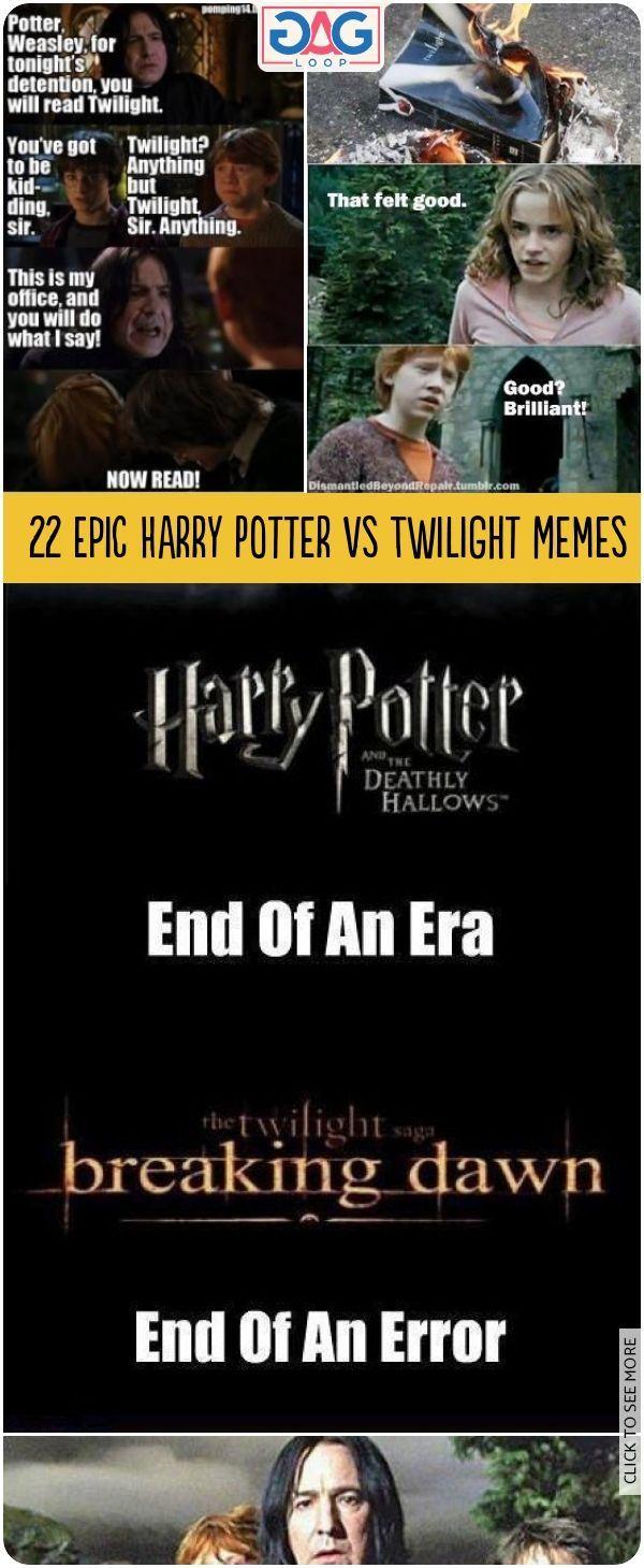 22 Epic Harry Potter Vs Twilight Memes Harrypotter Twilight Hermione Ron Funnymemes Gagloop Memes Snap Harry Potter Vs Twilight Twilight Memes Twilight