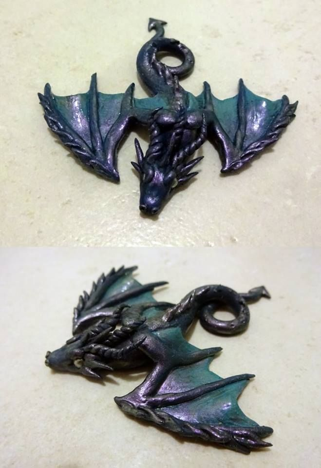 Dragon brooche - Pidlimaja