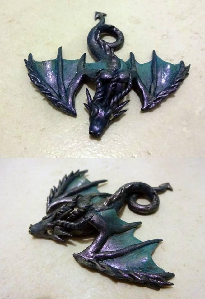 Dragon brooche - Pidlimaja