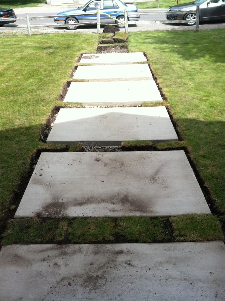 21 best Our Front Yard : ideas images on Pinterest ... on Concrete Front Yard Ideas id=29737