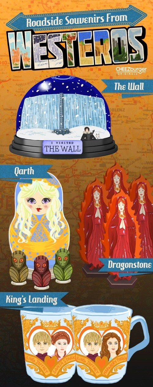 Souvenirs from Westeros ~ Game of Thrones Fan Art