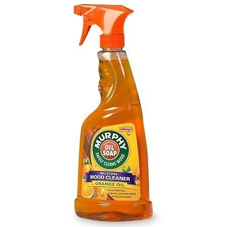 Murphy Oil Soap, Multi-Use Wood Cleaner, with Orange Oil - 22 oz.