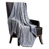 Found it at Wayfair - Chevron Two Tone Polyester Throw Blanket