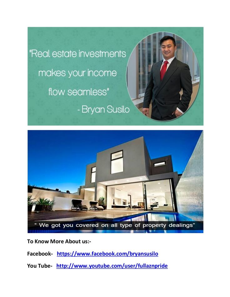 Bryan artawijaya susilo   real estate bussinessman in australia by bryanartawijaya007 via slideshare
