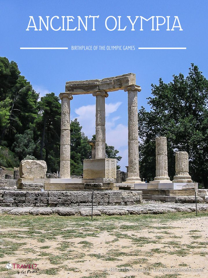 travelyesplease.com | Ancient Olympia- Birthplace of the Olympic Games (Blog Post) | Olympia, Greece