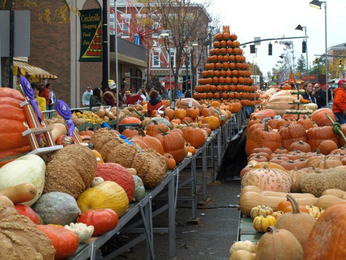 "Circleville Pumpkin Show."" The greatest free show on earth"""