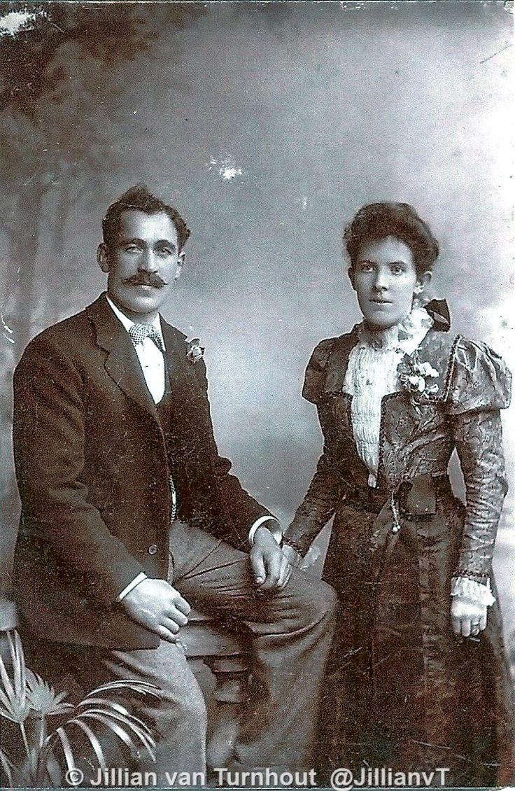 Wedding of 2nd Great Aunt of @JillianvT Jane Coleman and John Mahoney in 1900 in Cork #thetruecapital