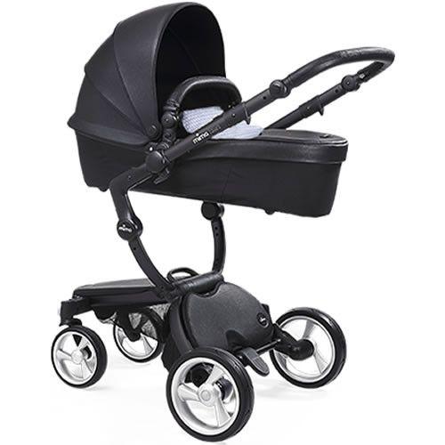 http://www.babytoys6months.com/category/mima-xari/ Mima Xari Stroller - Black/Black/Retro Blue