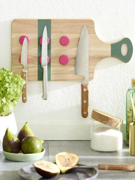 Schön Einfache Bastelanleitung Für Einen Messerhalter