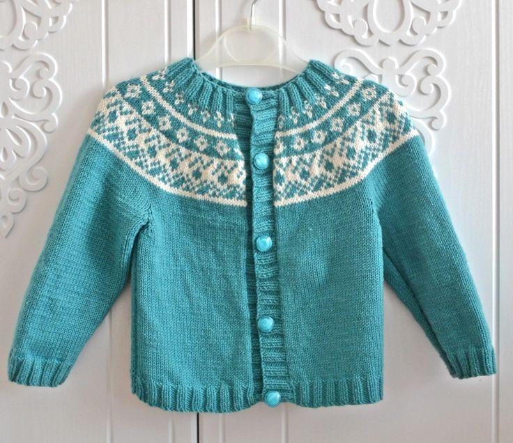 #knitting #kids #sweater #cardigan #handmade