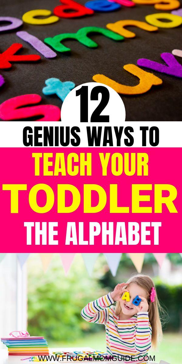 Genius Alphabet Activities for Kids