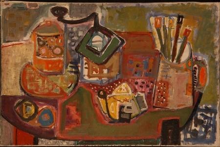 Lea Nikel 1952 Still Life