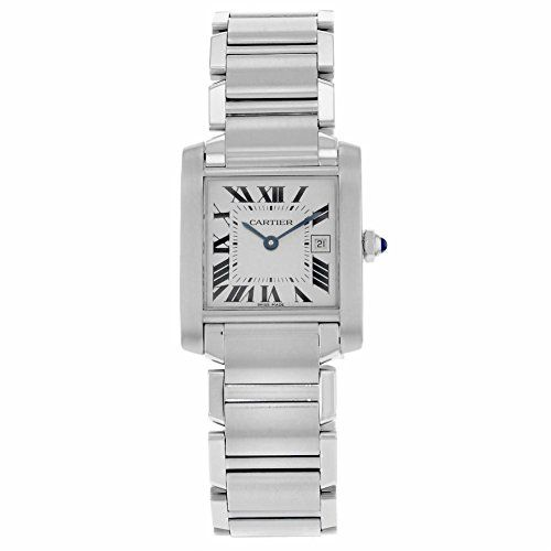 Women's Certified Pre-Owned Watches - Cartier Tank analogquartz womens Watch W51011Q3 Certified Preowned ** Check out the image by visiting the link.