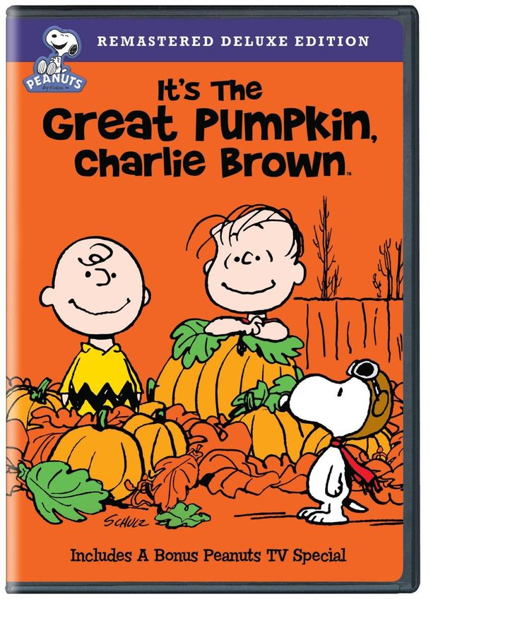 It's the Great Pumpkin, Charlie Brown DVD or BluRay Only