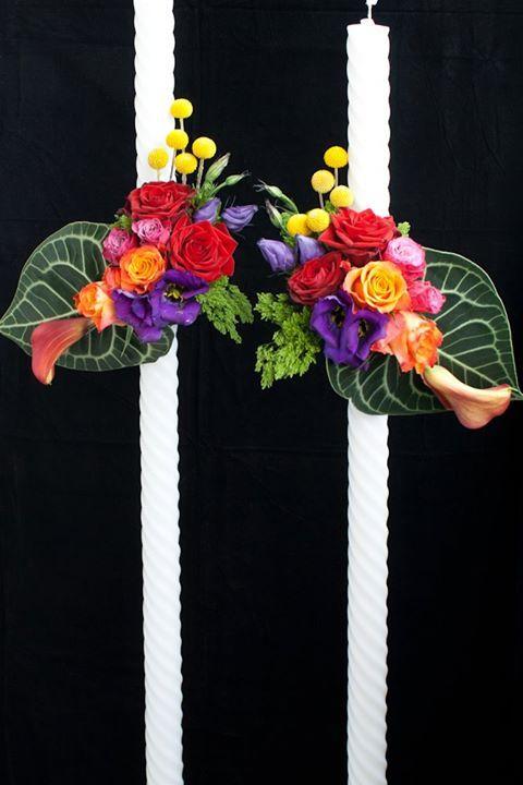 Lumanari nunta https://www.facebook.com/FlowersByAna