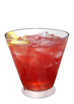 Ohio State Buckeyes: Buckeye Blitz  1 1/2 oz Red Stagg Cherry Bourbon 1 oz Grenadine 3 oz Lemonade (or to taste)  Combine all ingredients in a shaker, shake and strain. Garnish with a cherry.