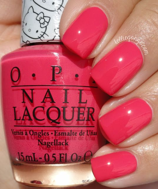 OPI — Spoken from the Heart (Hello Kitty Collection   January 2016)