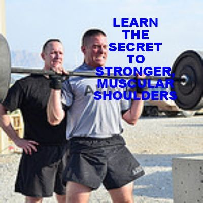Learn the secret to build bigger, stronger, more muscular shoulders