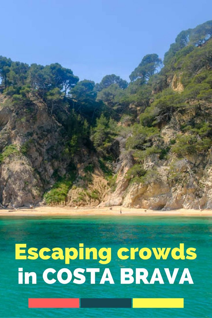 Escaping Crowds in Rugged Costa Brava, Spain.