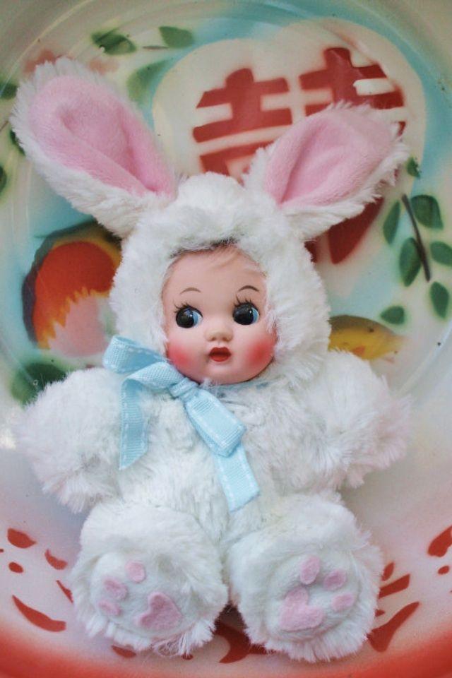 Cute little vintage dolly
