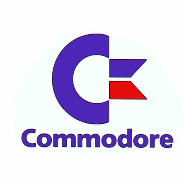 commodore logo amiga advertising pinterest logos