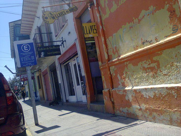 Calle Esmeralda. Cartagena. Chile