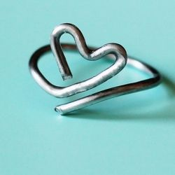 Create your own heart ring in just a few minutes!