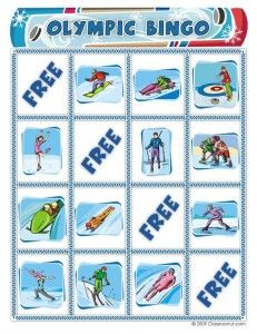 Free Winter Olympics Bingo Game | Classroom Jr.