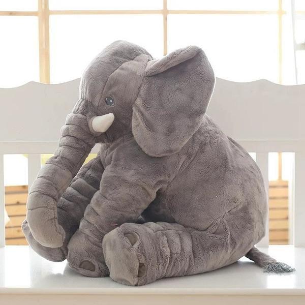 "Item Type: AnimalsFeatures: Stuffed & Plush,Soft,MiniGender: UnisexAge Range: > 3 years oldTheme: TV & Movie CharacterType: Cushion/PillowBrand Name: Love·Thank youWarning: Keep away from fireMaterial: CottonFilling: PP CottonAnimals: ElephantForm: ElephantItem Type: AnimalsFeatures: Stuffed & Plush3 years old""> Age Range: 3 years old"">> 3 years oldForm: ElephantColor: Gray Yellow Pink Purple BlueSize: 45*25*60cm"
