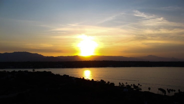 """Puesta de sol desde """"El Jicote"""""""