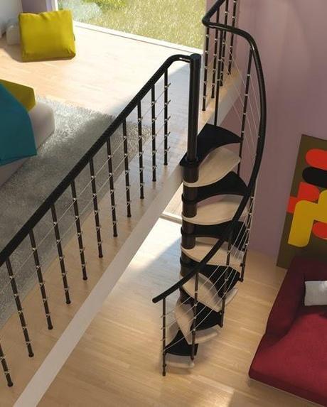Oltre 25 fantastiche idee su soluzioni piccoli spazi su - Scale appartamento interne ...