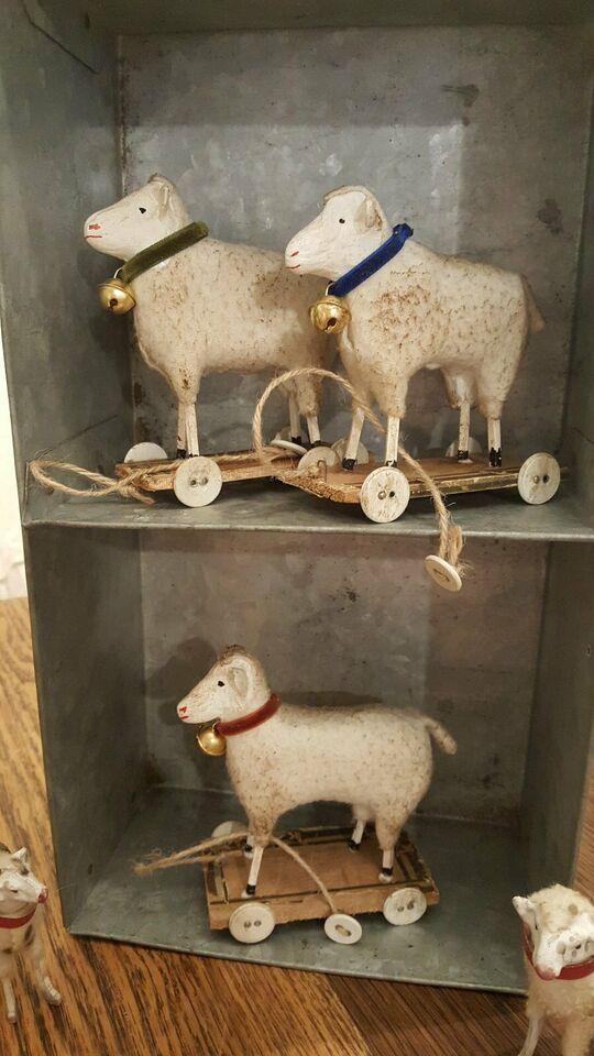 Wollschafe Nach Alter Tradition Shabby Chic Brocante Weihnachten In Hessen Rudesheim Basteln Handarbeiten Und Kunsthandwerk Ebay Shabby Schafe Brocante