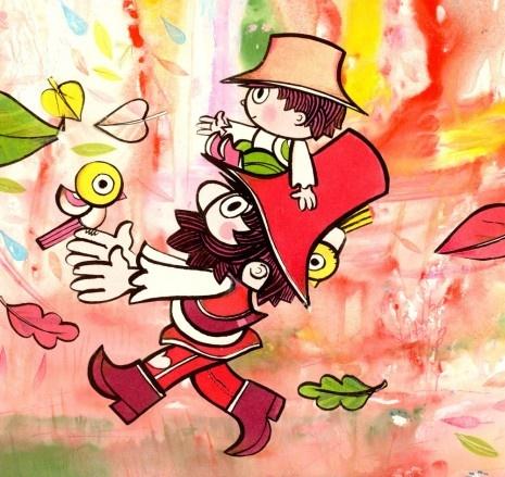 Rumcajs a Cipísek (Czech cartoon for kids), illustrator Radek Pilař