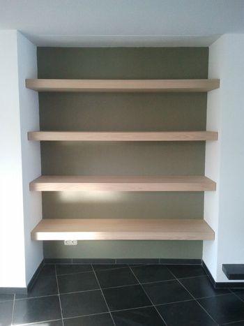 25 beste idee n over kast planken op pinterest kast rekken kast redo en opbergkast - Redo houten trap ...