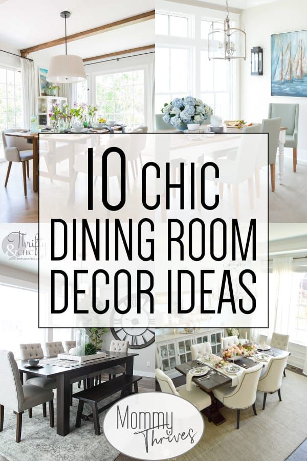 10 Inviting Dining Room Ideas Casual Dining Rooms Farmhouse Kitchen Decor Interior Room Decoration