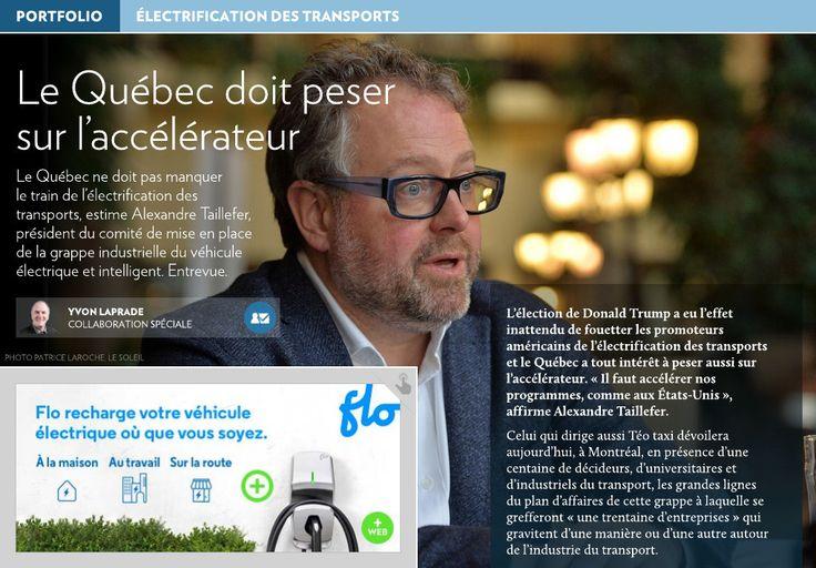Le Québec doit peser sur l'accélérateur - La Presse+