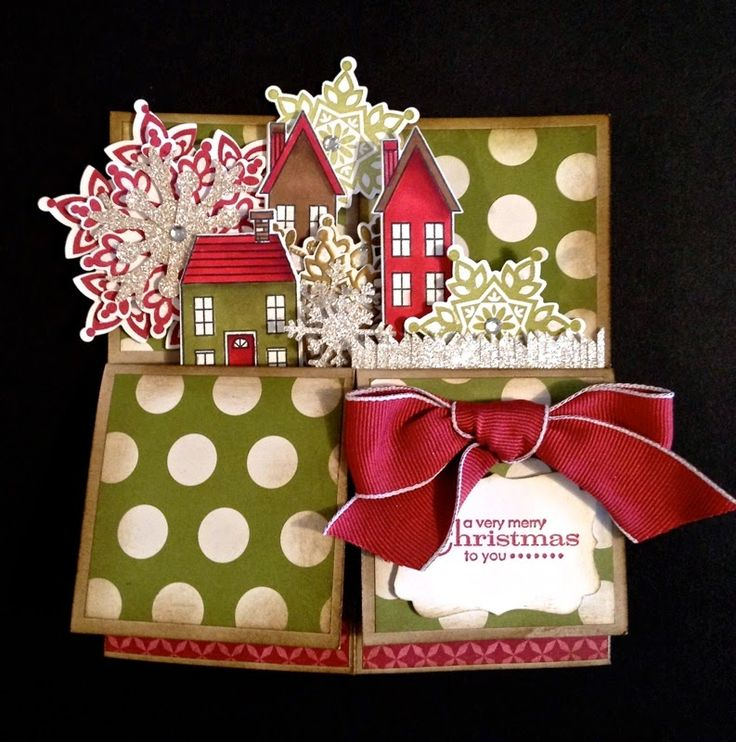 distINKtive STAMPING designs: Christmas Card In A Box
